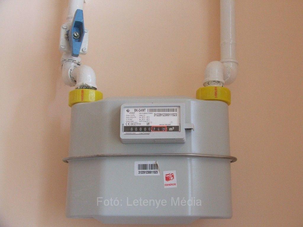 gázmérő leszerelése